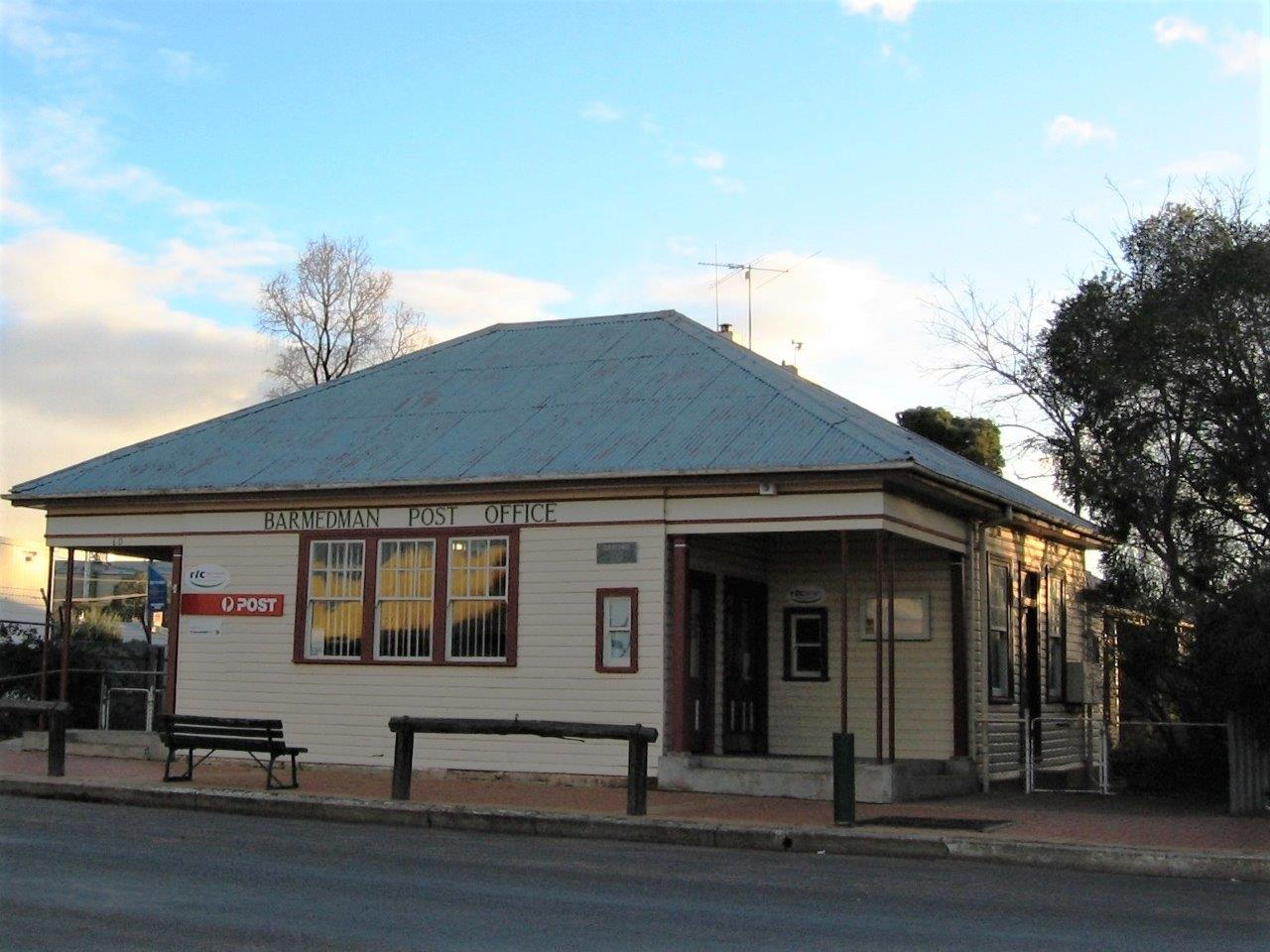 Historic Barmedman Post Office